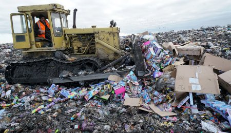 Как собираются использовать газ с мусорных свалок