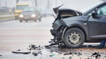 В сети опубликовано видео аварии с восемью автомобилями в столице