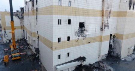 Снесено здание торгового центра «Зимняя вишня»