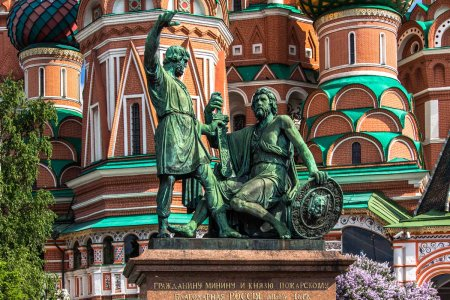 Объявлен сбор средств на реставрацию столичного памятника Минину и Пожарскому