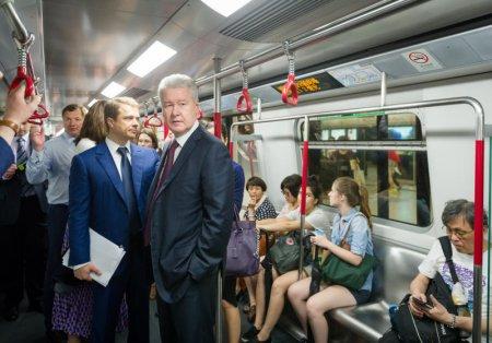 Собянин провел технический запуск первого участка Некрасовской линии метро
