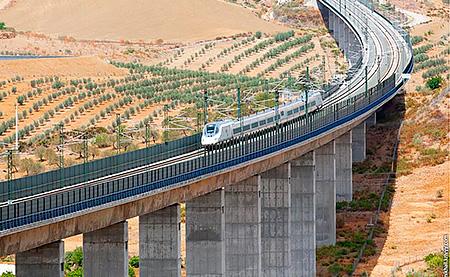 Строительство скоростной железной дороги