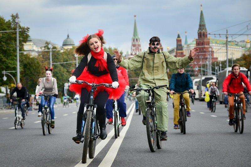 Ряд улиц столицы перекроют вовремя осеннего велопарада