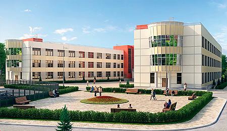 Монолит новой школы в ЖК «Нахабино Ясное» готов
