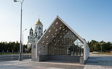 Конструктивные инновации станции метро «Солнцево»