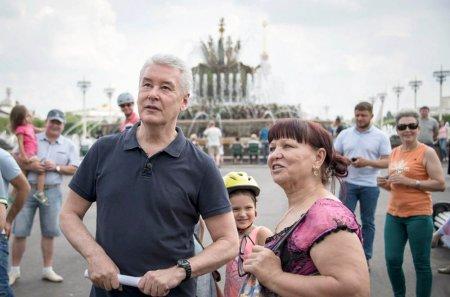 Мэр Москвы открыл образовательный комплекс на ВДНХ