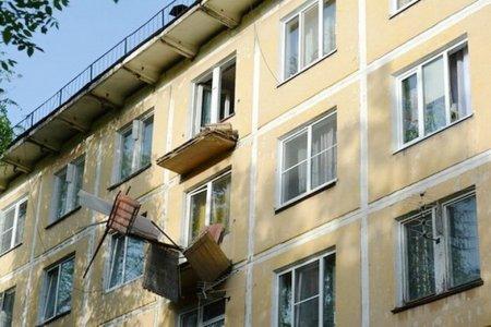 В Калужской области возбудили уголовное дело по факту обрушения балкона