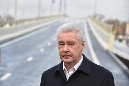Мэр Москвы открыл бессветофорную часть Северо-Восточной хорды