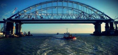 Названа стоимость систем безопасности Крымского моста