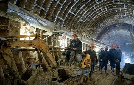 Строительство еще одного тоннеля метро стартовало на востоке Москвы