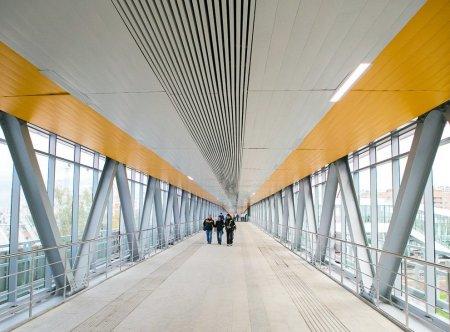 В Москве на базе ТПУ «Лихоборы» возведут стеклянный мост
