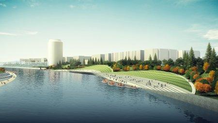 Обустройство набережных Москвы‑реки по масштабам сравнится с проектом реновации