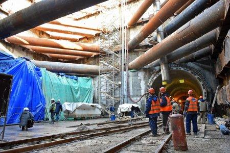 На юго-востоке столицы завершена проходка тоннеля БКЛ метро
