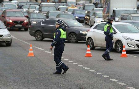 На следующей неделе автомобильное движение в Москве ограничат