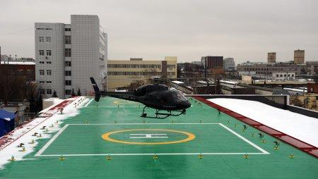 Новый корпус НИИ им. Склифосовского оборудуют вертолетной площадкой