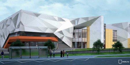 ФОК в стиле оригами появится на юго-востоке Москвы
