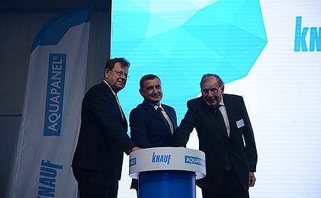 КНАУФ открыл новый завод в Новомосковске