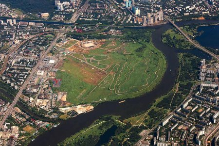 Названа сумма инвестиций в развитие бывшего аэродрома Тушино