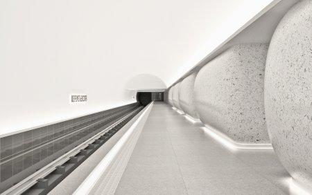 В Москве утвержден дизайн станции БКЛ «Шереметьевская»