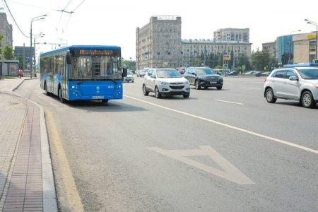 Выделенные полосы появятся на Кутузовском проспекте и Большой Дорогомиловской