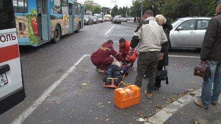 В Орле троллейбус наехал на пешеходов, есть погибшие