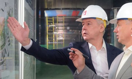 Собянин дал старт проходке тоннеля БКЛ метро