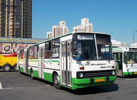 Три автобуса на юго-западе Москвы изменят свои маршруты