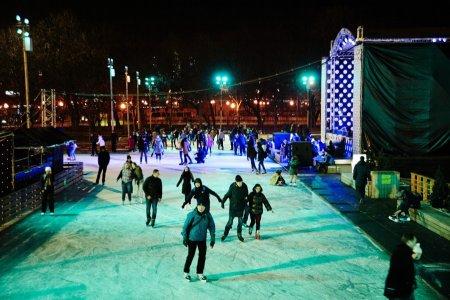 В Парке Горького откроется каток в индустриальном стиле