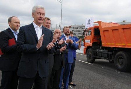 Собянин открыл часть Варшавского шоссе в Щербинке после реконструкции