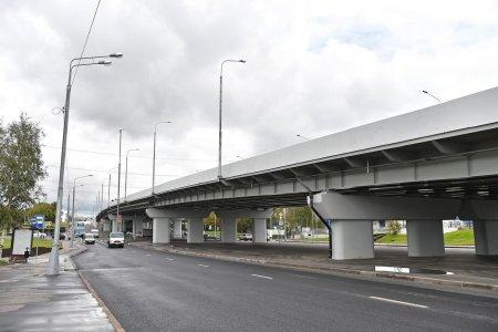 На Рублевском шоссе появится эстакада за 1,4 млрд рублей