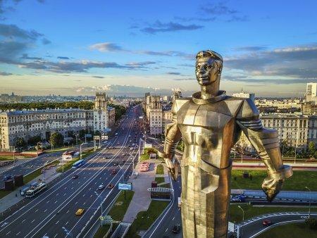 В Москве готовы к реставрации скульптуры дома на площади Гагарина