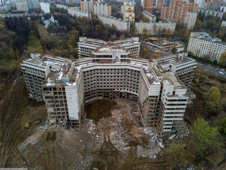 Ховринская больница будет снесена до конца недели
