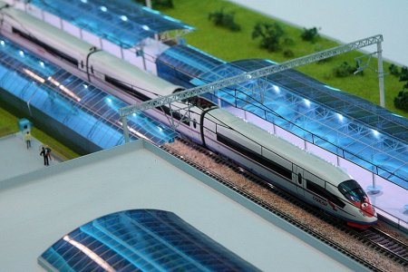В РЖД создали концепт высокоскоростного поезда