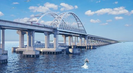 Украинские власти: Крымский мост серьезно проседает