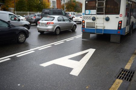 «Выделенки» для общественного транспорта появятся на трассах Подмосковья