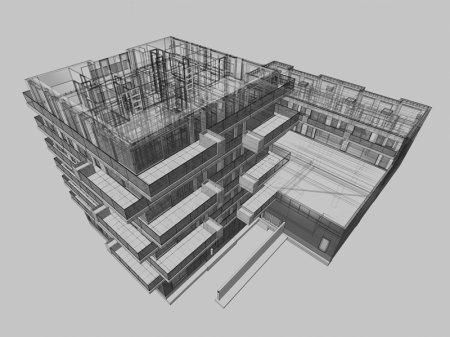 Согласован проект дома с BIM-моделью в рамках реновации в Крюково