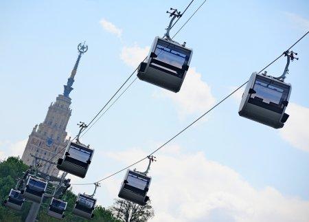 Собянин разрешил бесплатный проезд по новой «канатке» в течение месяца
