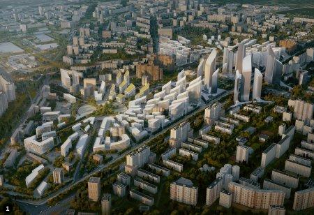 Квартал городских вилл в центре Москвы начнут строить в марте