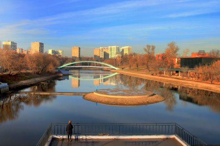 Власти Москвы рассказали о благоустройстве Черкизовского пруда