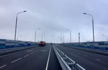 На мосту через Волгу в Дубне открыли рабочее движение