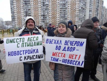 Подана заявка на митинг против застройки Москвы