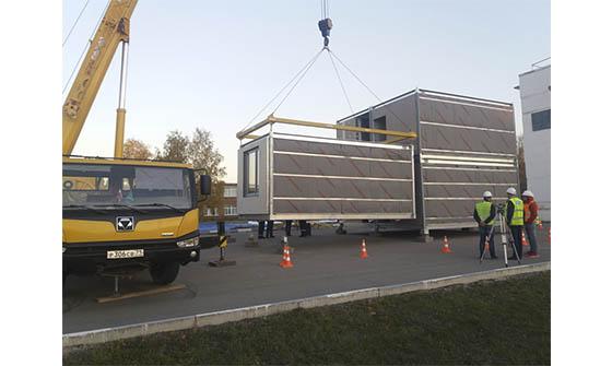 В ОЭЗ «Ступино Квадрат» начато строительство гостиницы из модулей КНАУФ