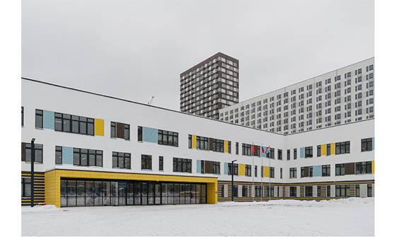 Энергоэффективные окна КВЕ – для школьников ЖК «Ярославский» в подмосковных Мытищах